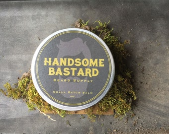 All Natural Beard Balm // 4 Man-sized ounces // Organic and Natural Ingredients // Small batch