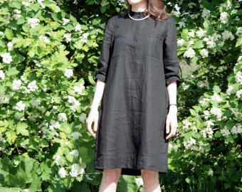 Dresss DYBOK made of organic linen