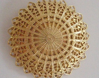 Vintage Golden Clip Sweater Clip Gold Jewelry