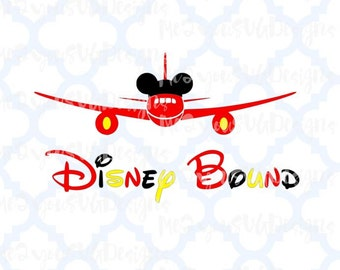 Disney Bound Plane SVG,EPS,PNG,Studio