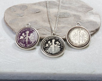 American Dime Necklace