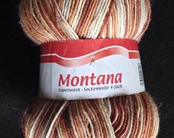 Montana Superwash Sock Yarn