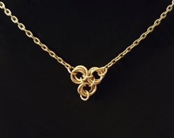 Triad Knot Necklace