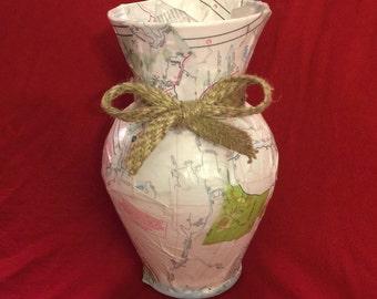 Road Trip Flower Vase