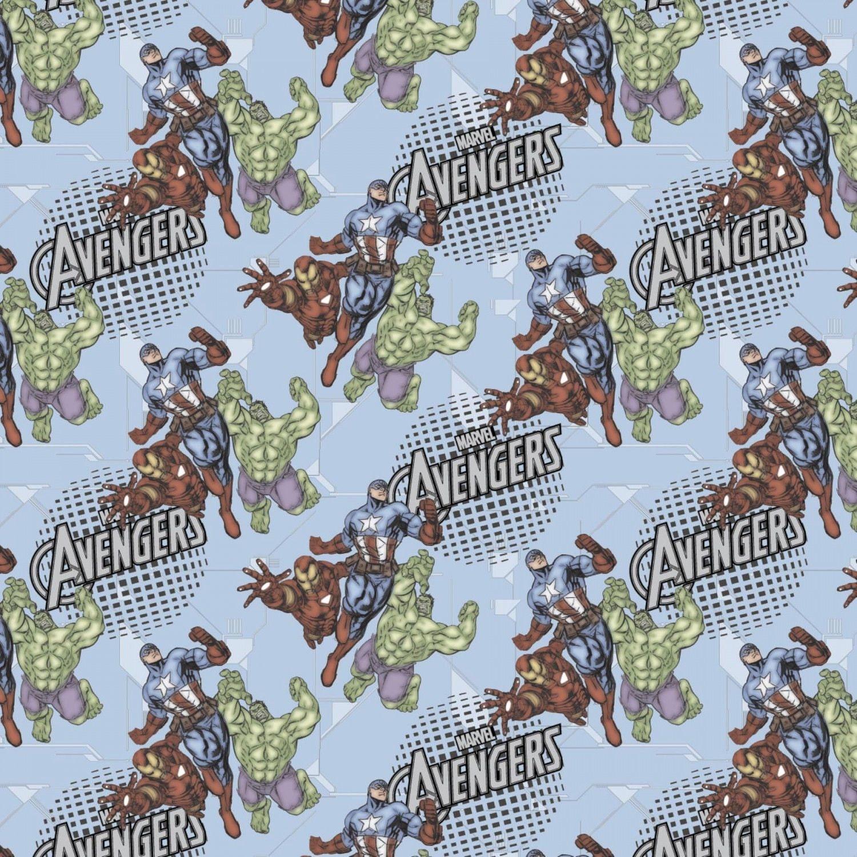 Marvel Avengers Fabric Assemble 100
