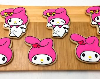 My Melody Sugar Cookies