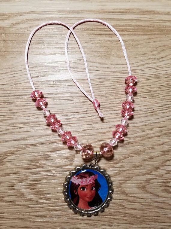Moana Disney Kids Crafts Little Girls Necklace