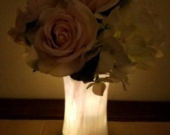 Pink & white floral arrangement