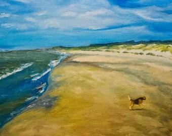 sea-Oil painting-original painting-seascape-40 x 50 cm-Ocean Artwork- Original Hand Painted