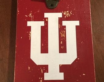 Indiana University bottle opener