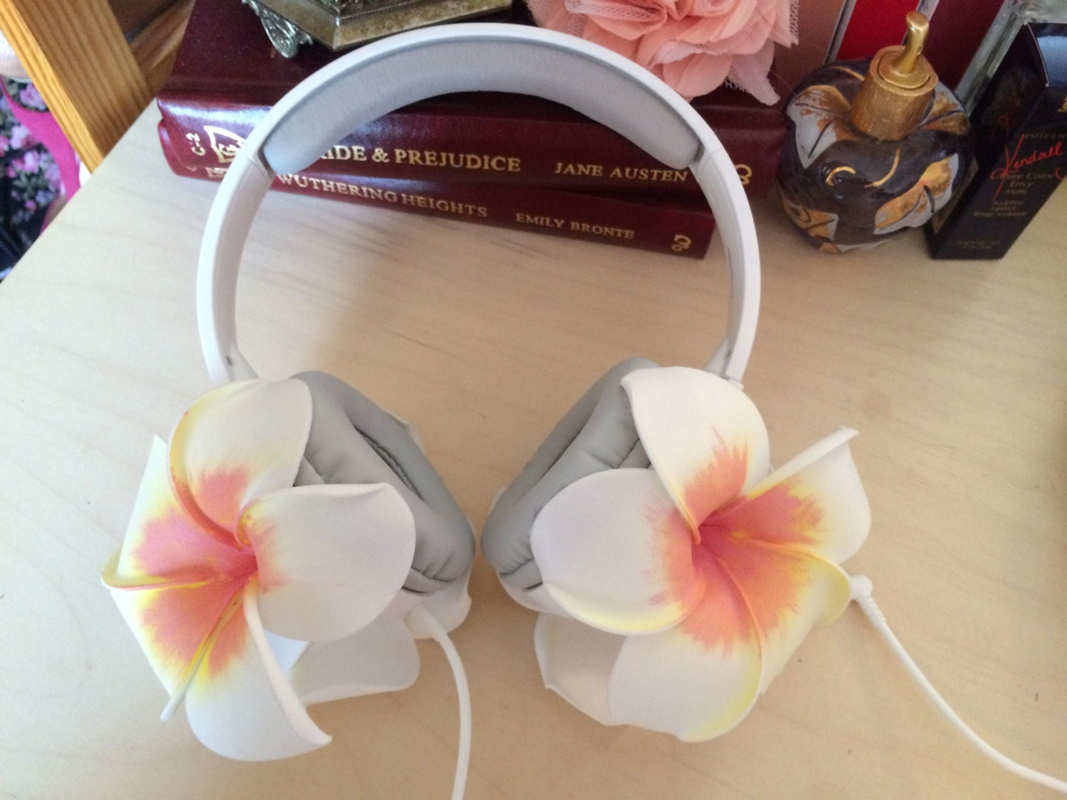 Lana Del Rey Flower Floral Headphones From Music To Watch Boys
