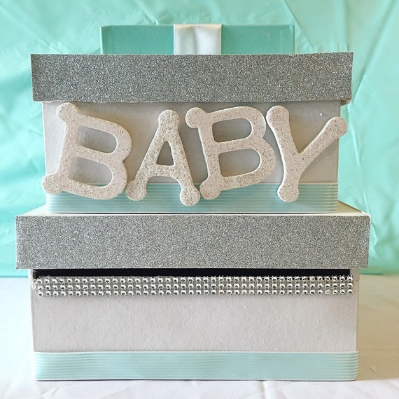 baby shower card box giftcard box and letter box