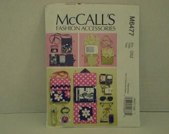 McCalls Fashion Accessories Pattern