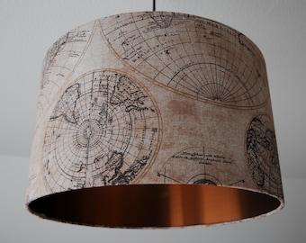 "Ceiling lamp ""globe"" (vintage) (ceiling lamp shade)"