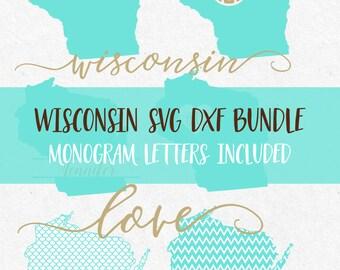 Wisconsin State svg fonts svg monogram frames svg monograms svg files for silhouette svg files for cricut svg files sayings svg svg bundle