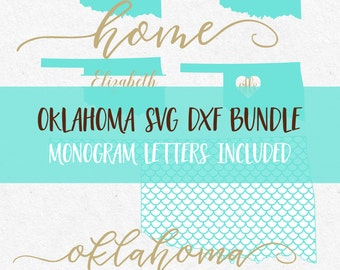 Oklahoma Svg Bundle Svg Fonts Svg Monogram Frames Cricut svg Silhouette svg designs png dxf svg bundle svg mermaid svg files jpg fonts