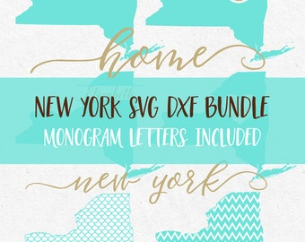 New York Svg Dxf Bundle svg fonts svg monograms svg monogram frames svg files for silhouette svg files for cricut svg files mermaid pattern