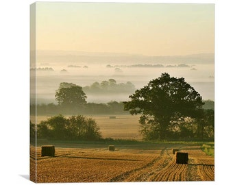 Harvest Dawn canvas print