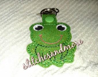 Vinyl Frog Keychain