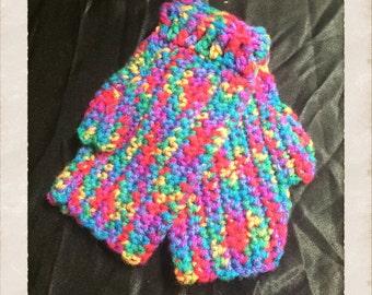 Crochet Mittens/ Hand Warmers