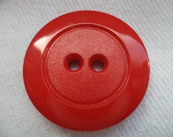 8 red BUTTONS 22mm (211) button jacket buttons