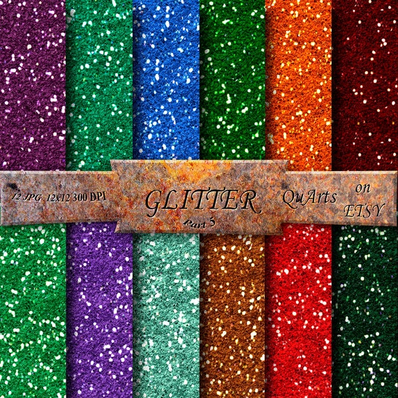 Current image intended for printable glitter paper