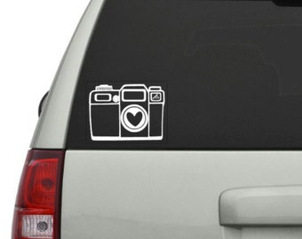 Photography Camera Decal