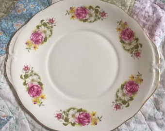 Gorgeous Queen Anne Vintage Cake Plate- for High Tea