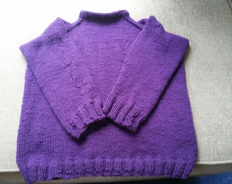 Woman's Ladies Sweater Jumper Pullover Handknit Handmade