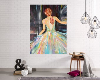Lady Series #3 Abstract Art Giclee Print