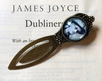 James Joyce Bookmark - Literary Gift, Ulysses Bookmark, Dubliners Gift, Vintage Bookmark, A Portrait of the Artist as a Young Man Bookmark