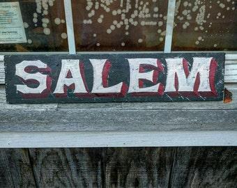 Distressed Salem Sign