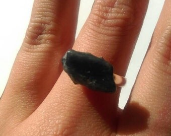Purple Stone Ring- Handmade