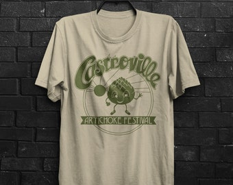 Castroville Artichoke Festival Dustin Hawkins Stranger Things Inspired TV Show Adults Mens & Women's T-shirt Top Tee Shirt All Sizes Cols