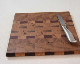 End-grain cutting board made from Australian wood - Can be made to order Inv#4