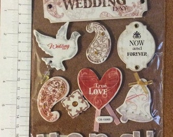 Wedding Day Dove Heart and Signs