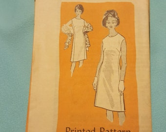 1960 Printed Pattern Size 10 #4836  New