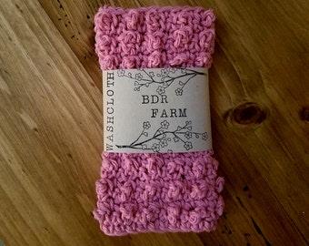 Textured Crochet Washcloth by BDRFarm