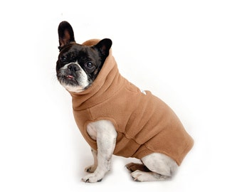 16. CAPPUCCINO Polartec 200 dog sweater