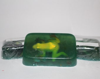 Kids Frog Cinnamon Glycerin Soap