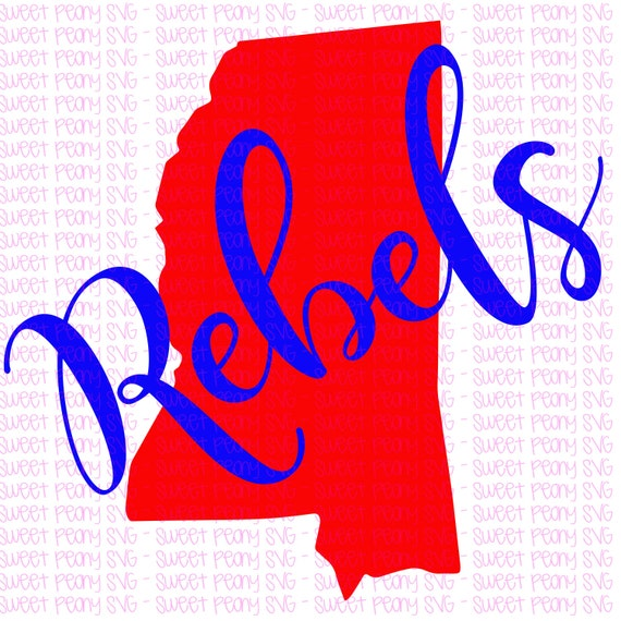REBELS Rebels svg Ole Miss svg Ole Miss Rebels