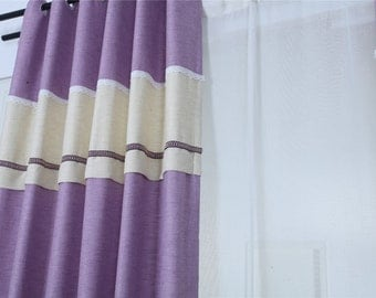 Purple Curtainscurtains For Living Roomcurtainssheer Curtainskitchen Curtains