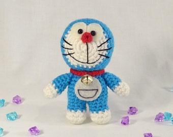 Crochet Doraemon Amigurumi Plush Toy