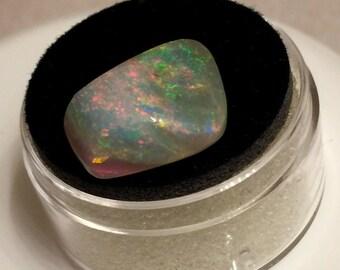 A Very Bright Freeform Super Gem Mintabi Opal