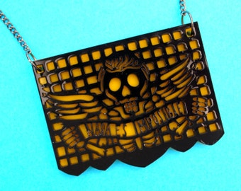Papel Picado Necklace