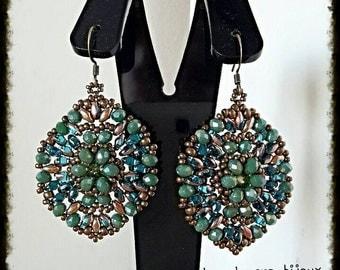 Giovanna Francesca Piombino Pattern earrings