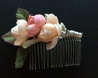 Wedding Floral Hair Piece