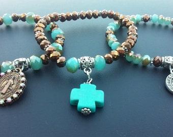 Bracelet sets of three