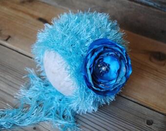 Newborn hat, newborn crochet hat, crochet newborn bonnet, new born flower hat, baby girl hat, newborn girl, newborn photo prop