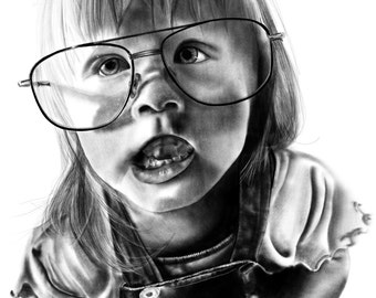 Custom Hand Drawn Portraits